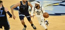 Mike Conley's MRI reveals mild right hamstring strain —he'll be re-evaluated ahead of Game 1