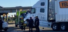 9-year-old Utah girl driving to California with 4-year-old sister crashes into semi, police say