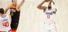 Gobert's final block mattered, but Clippers credit Jazz 'physicality,' fiery 3rd quarter for Game 1 win