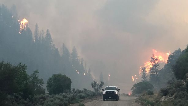 Wildfire updates: Bear Fire in Carbon County closes U.S. 6 in both directions