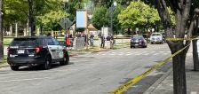Police shoot, kill man suspected of stabbing woman in Pioneer Park
