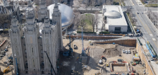 Temple Square's North Visitors' Center will soon be demolished, replaced by garden