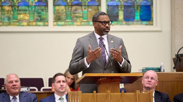 What NAACP President Derrick Johnson told a Latter-day Saint congregation on Sunday