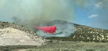 Wildfire updates: New fire starts on border of Juab and Sanpete counties, Flatt Fire evacuations lifted