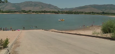 Drought causes closure of Anderson Cove dock at Pineview Reservoir