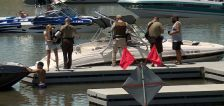 Rangers perform boat safety checks out at Willard Bay State Park
