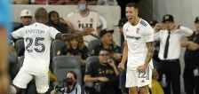 Herrera's goal, Ochoa's heroics not enough as LAFC snatch 3 points with 2-1 win over RSL