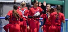 Osterman strikes out 9, US tops Italy 2-0 in softball opener