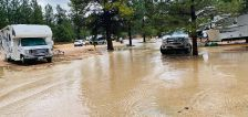 Evacuations lifted for Mapleton residents after flooding from thunderstorm