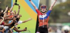 Olympic cycling road races are studies in contrast