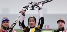 Chinese rifle shooter Yang wins first gold medal of Tokyo Olympics