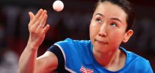 Table tennis' mixed doubles get underway, US paddlers progress in singles