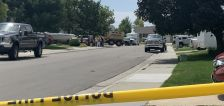 Police: Man arrested after stabbing person 15 to 18 times, shooting at arriving officers in West Jordan