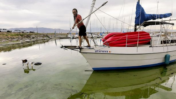Utah's drought and low reservoirs add up to more intense algal blooms