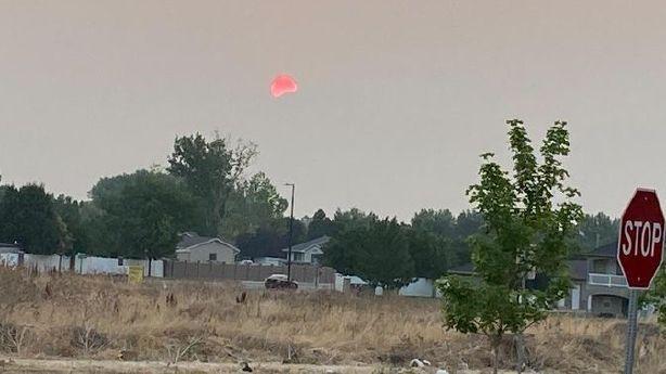 Smoky skies in northern Utah, thunderstorms possible in southern Utah on Sunday