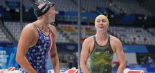 Dressel wins US Olympic swimming  gold; Australia's Titmus beats Ledecky