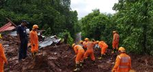 Torrential rains kill more than 160 in India, dozens trapped in landslides