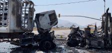 3 critically injured in 4-vehicle Magna crash involving semitrucks