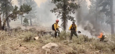 'A lot of work to be done here': Utah crews help fight large fires in Oregon, Montana