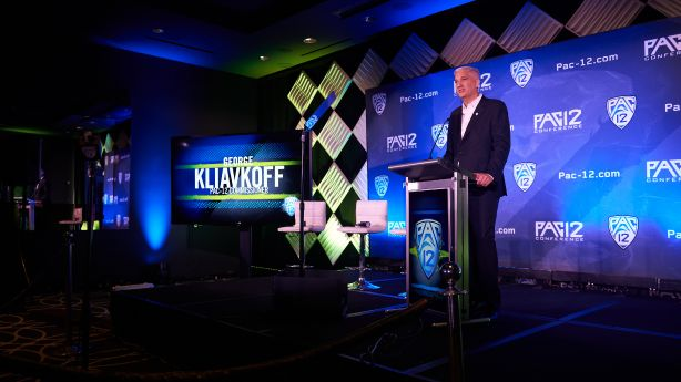 Pac-12 now a 'football conference,' new commissioner says in first public comments