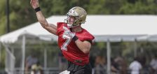 Slimmed-down Taysom Hill locked in arms race with Jameis Winston for Saints starter