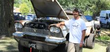 Fun or freaky? Richmond man combines tail-finned Plymouth and off-road truck to make 'Maxine'