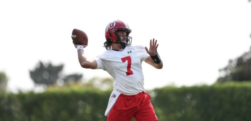 As Utes kick off fall camp, QB takes center stage + other notes from camp