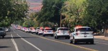 Hundreds gather to honor St. George police officer who died