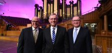 Meet the new presidency of the Tabernacle Choir at Temple Square