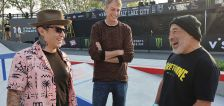 Tony Hawk helps unveil new skate park at the Utah State Fairpark