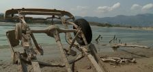 Low water levels uncover old cars in Hyrum Reservoir