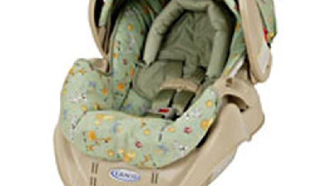 Graco Recalls Infant Car Seats Because Of Choking Hazard