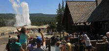 Woman severely burned at Old Faithful