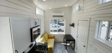 Students get hands-on experience building tiny home