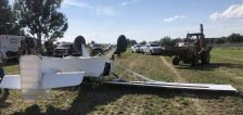 Woman injured after plane crashes, flips over in Hooper, officials say