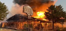 Fire destroys vacant Diamond Lil's building on North Temple in Salt Lake City