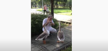 Have You Seen This? Man charms geese with harmonica