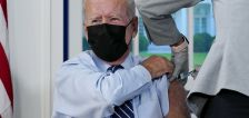 Biden gets COVID-19 booster shot after authorization