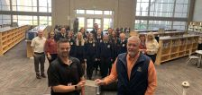 Cedar Valley High gets $25,000 donation to build an on-campus barn for ag programs