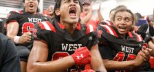 West survives goofy, furious rally from Kearns to claim region crown