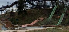 Demolition begins at abandoned Raging Waters/Seven Peaks water park