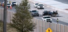 Northbound I-215 in Millcreek reopens after man is killed in autoped