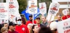 'Enough's enough': tight US. job market triggers strikes for more pay
