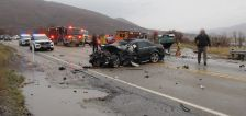 1 dead, 3 injured in head-on collision near Pineview Reservoir