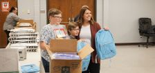 More than 500 backpacks full of supplies readied for incoming Afghan refugee students