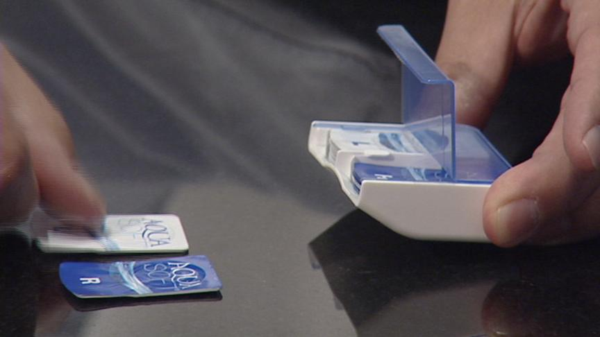 Contact Lens Dispenser Could Reduce Contamination Risk
