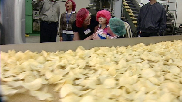 Emmalee Havertz Took A Tour Of The Frito Lay Plant In West Valley City She Says Likes Chips So Much It S Sometimes Only Thing Can Eat After