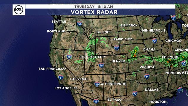 Salt Lake City Weather Map.Ksl Weather Center Ksl Com