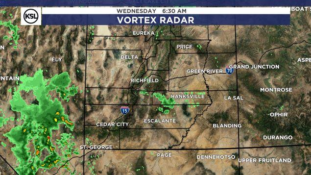 Weather Map Of Utah.Ksl Weather Center Ksl Com